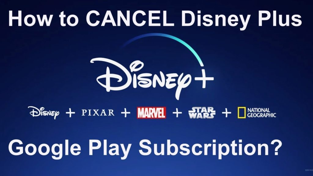 How To Cancel Your Disney+ Subscription Through Google Play Store